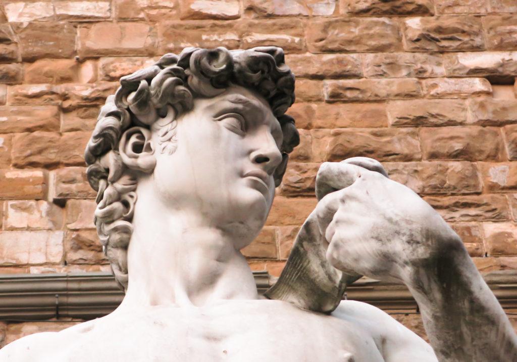 """Dzieła sztuki we Florencji - """"Dawid"""" Michała Anioła"""