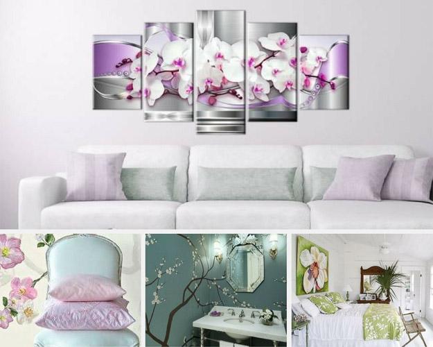 Motyw roslinny - orchidea
